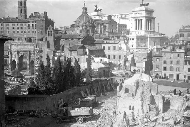 Forum romain, 1932