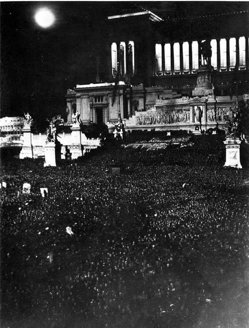 Célébration de la conquête de l'Éthiopie, 1936