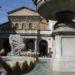 Fontaine de Piazza Santa Maria in Trastevere