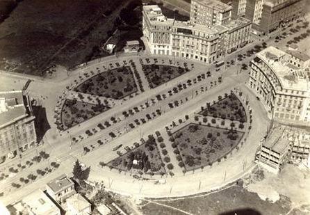 Place Re di Roma, 1920
