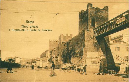 Porta San Lorenzo, 1909