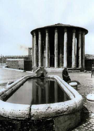 Tempio di vesta, 1890