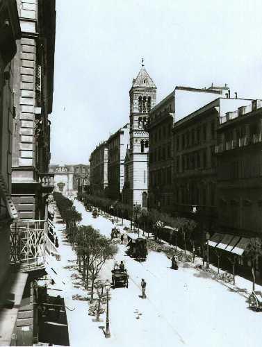 Via Nazionale, 1890