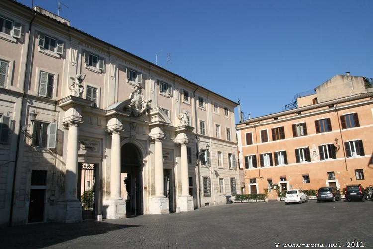 partie orientale du Trastevere - 01