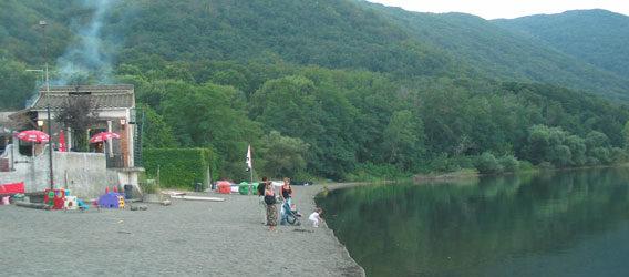 lac de vico et monts cimins