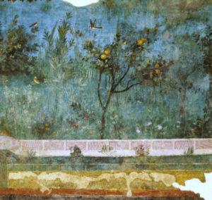 Villa di Livia, affreschi